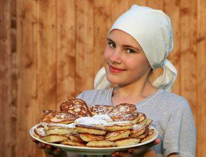 pancake et fille